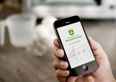 Desarrollo de la aplicación para smartphones del Ayuntamiento de Marchamalo junto con Editorial Deley