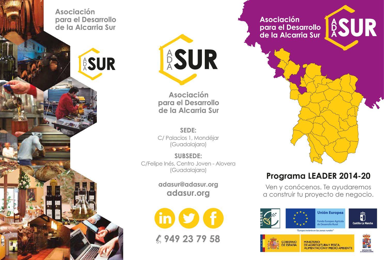 Creación de imagen de marca y primera campaña publicitaria de la Asociación para el Desarrollo Local de la Alcarria Sur (ADASUR)
