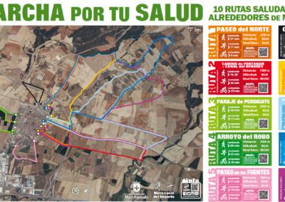 Diseño, señalización y difusión de las nuevas Rutas Saludables del Ayuntamiento de Marchamalo