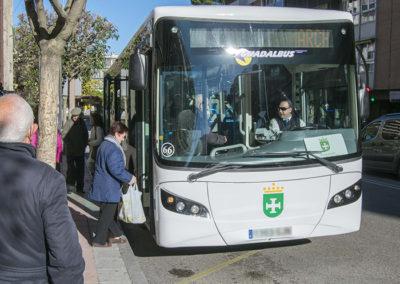 Desarrollo de señalética y campaña publicitaria del nuevo servicio de Autobuses Interurbanos ASTRA en Marchamalo