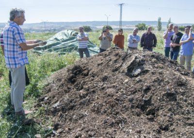 El proyecto 'Henares Agrocomposta', con la participación de Habla Comunicación, escogido como modelo a nivel nacional