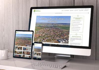 Habla Comunicación culmina el trabajo de renovación total de la web corporativa del Ayuntamiento de Marchamalo