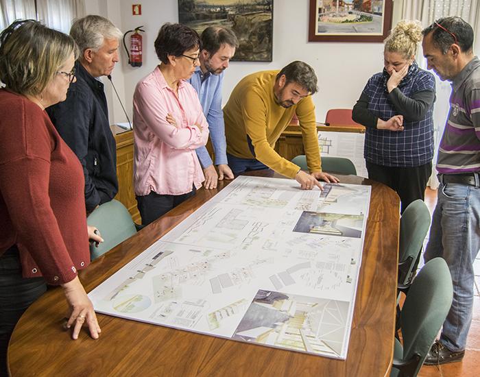 'Marchamalo Decide' acoge la votación pupular para decidir el diseño de la futura Biblioteca Municipal de Marchamalo