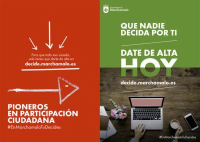 Habla Comunicación y RedLines lanzan la primera campaña digital para los Presupuestos Participativos 2019 en Marchamalo