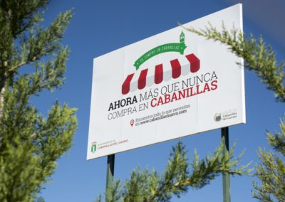 Habla Comunicación se encarga de la nueva campaña de promoción del comercio local de Cabanillas