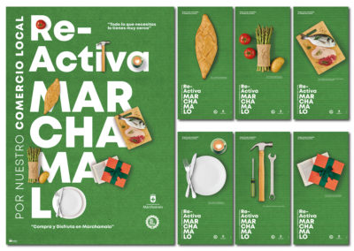 Nueva campaña de promoción del Comercio Local multisoporte para el Ayuntamiento de Marchamalo