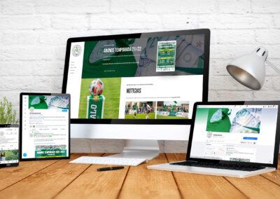 El Club Deportivo Marchamalo confía en Habla Comunicación para potenciar su presencia en Internet y redes sociales